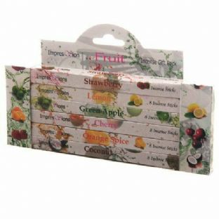 Impressions Incense 6 Pack Gift Set - Fruit